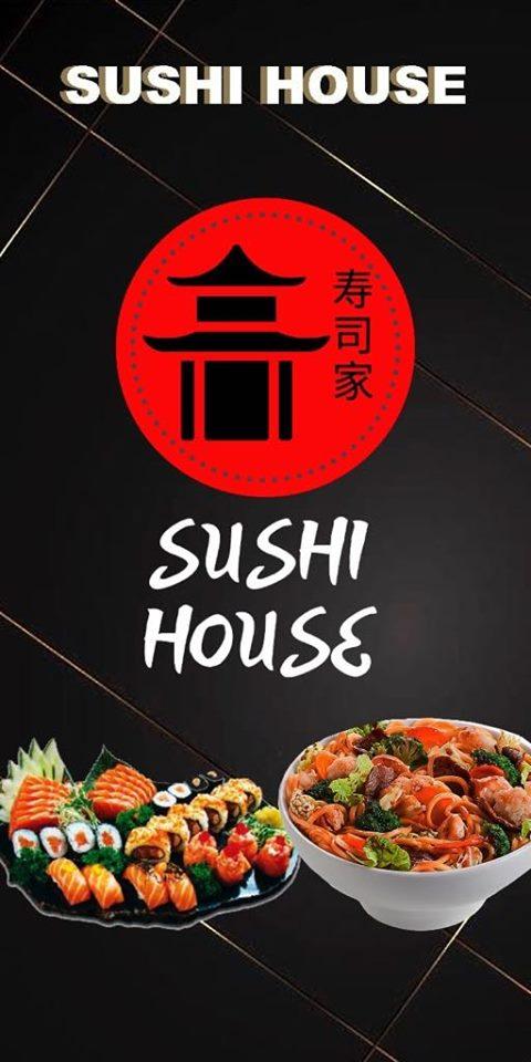 Sushi House Delivery está te esperando! Peça sua comida japonesa fresquinha  e deliciosa. Chega rapidinho em sua casa!   Pirenópolis Online